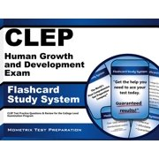 CLEP Human Growth and Development Exam Flashcard Study System: CLEP Test Practice Questions & Review for the College Level Examination Program