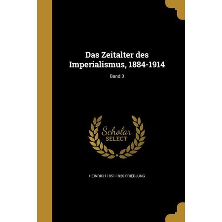 ISBN 9781361708774 product image for Das Zeitalter Des Imperialismus, 1884-1914; Band 3 | upcitemdb.com