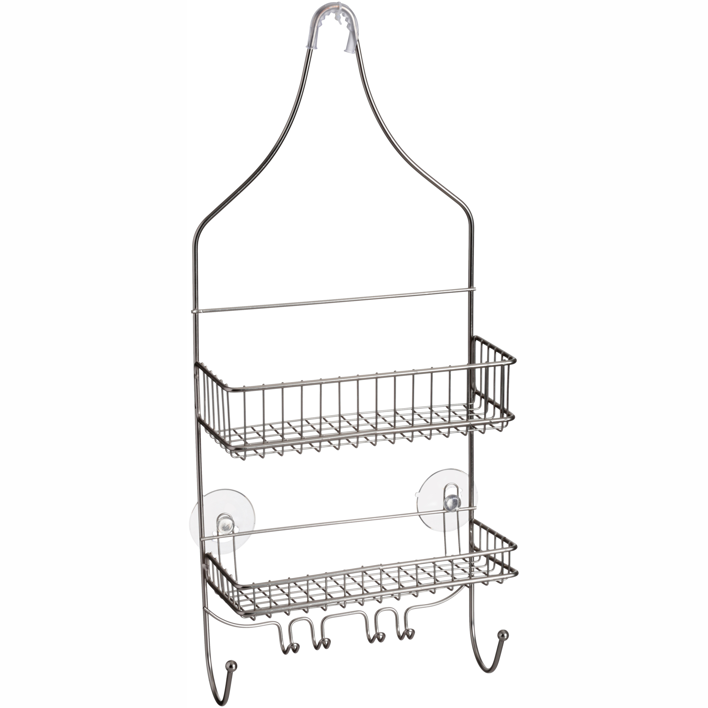 Home Collections Bath Series Nickel Shower Caddy by Home Expressions, Inc.