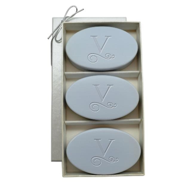 Carved Solutions Signature Spa Trio Wild Blue Lupin-Pi-Flourish-Z Soap