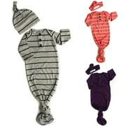 XIAXAIXU Newborn Baby Sleeping Bag Sacks Blanket Swaddle Wrap Bedding Clothes Hat Outfits