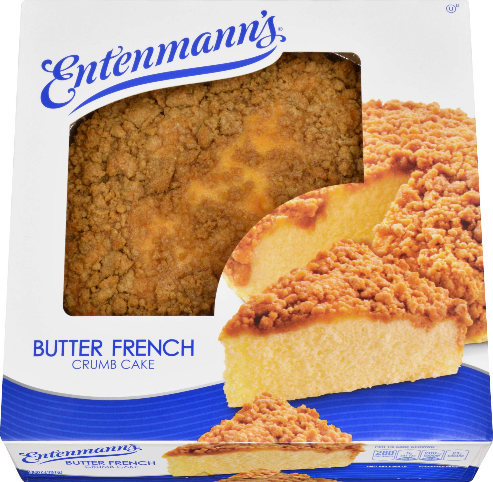 Entenmann's Butter French Crumb Cake, 14 oz