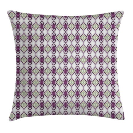 Mauve Decor Throw Pillow Cushion Cover Arabesque Eastern Mosaic Delectable Mauve Decorative Pillows