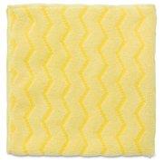 Rubbermaid Commercial Hygen Bathroom Cleaner - Cloth - 1 Carton - Yellow (q610ct)