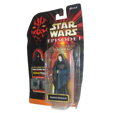 Darth Sidious (Star Wars Episode I The Phantom Menace Darth Sidious Commtech Action)