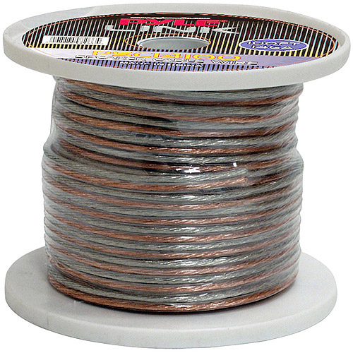 Pyle Audio 14-Gauge 100' Spool of High-Quality Speaker Zip Wire