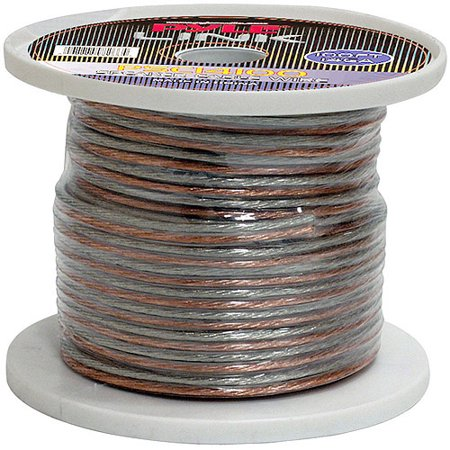 Pyle Audio 14-Gauge 100′ Spool of High-Quality Speaker Zip Wire