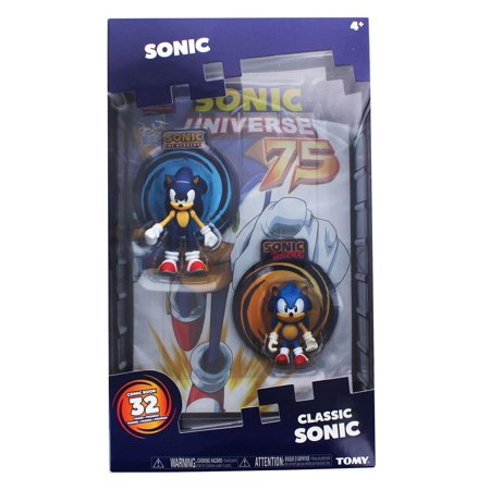 Sonic Collector Series Figure 2-Pack w/ Comic - Sonic