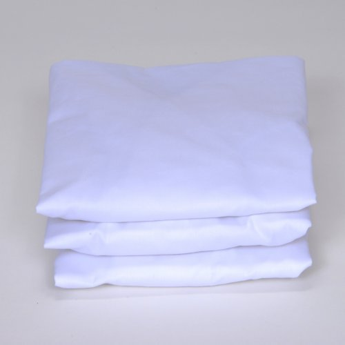 Royal Heritage Home White Fitted Bassinet Sheets - Set of 3
