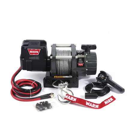 Warn 99963 5000 DC Utility Winch; 1.9 HP; 5000 lbs Pull;