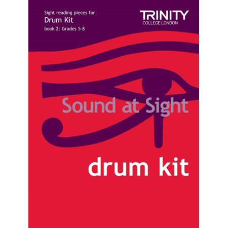 Sound at Sight Drum Kit Book 2: Grades 5-8 (Sound at Sight: Sample Sightreading Tests) (Sheet music)