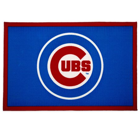 MLB Chicago Cubs Soft Area Rug with Non-Slip Backing by Delta Children