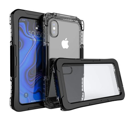 Mignova iPhone X/XS 5.8 inch case, Full Sealed Waterproof Dust Proof Shockproof Full Body Underwater Cover Case for iPhone X/XS 5.8 inch case 2019
