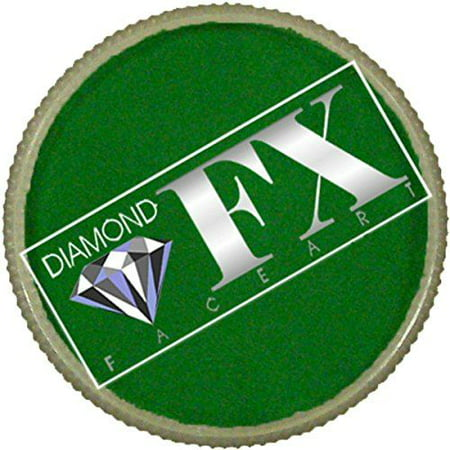 Diamond FX Essential Face Paint - Green (30 gm)](Green Bodypaint)