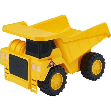 Force Truck - Adventure Force Light & Sound Construction Vehicles Yellow