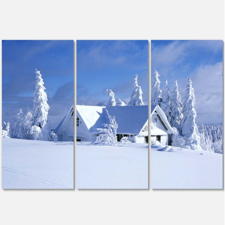Design Art - Orlicke Hory Cottage in Winter - image 1 de 3