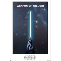 """Star Wars - GLOW IN THE DARK - Limited Edition Movie Poster / Print (WEAPON OF THE JEDI - LIGHTSABER) (Size: 24"""" x 36"""")"""