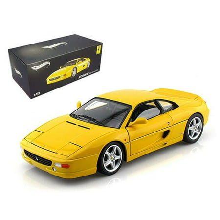 Ferrari F355 Berlinetta Yellow Elite Edition 1/18 Diecast Car Model by Hotwheels 1998 Ferrari F355 Spider