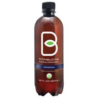 B-Tea Kombucha Raw & Organic Original Drink, 16 Fl. Oz.