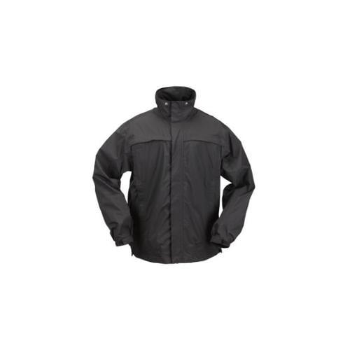 5.11 Tac Dry Rain Shell, Black, XS by 5.11 Tactical, Inc