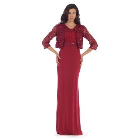 2a0166c9091 MQ - Long Formal Dress Mother of the Bride Bridesmaids 2018 - Walmart.com
