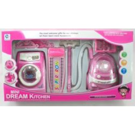 Toy Vacuum And Washing Machine Set