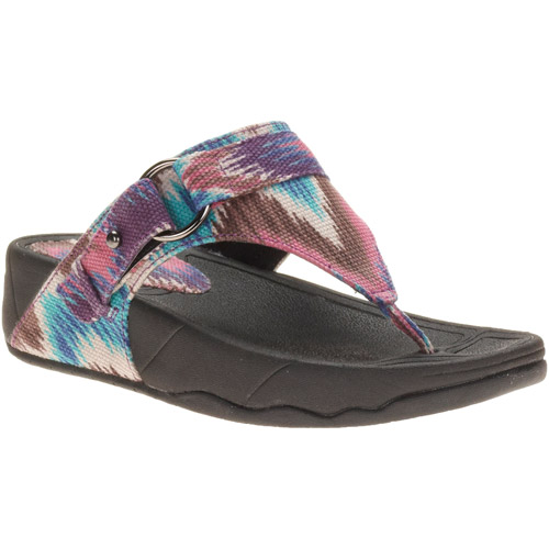 Mo Mo Women's Dana Comfort Sole Thong Sandals