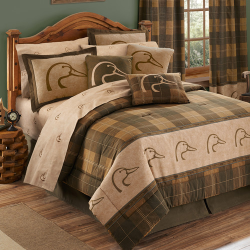 Details about  /Eight PieceComforter Shams Bedskirt Global-Inspired Bedding Multicolor King