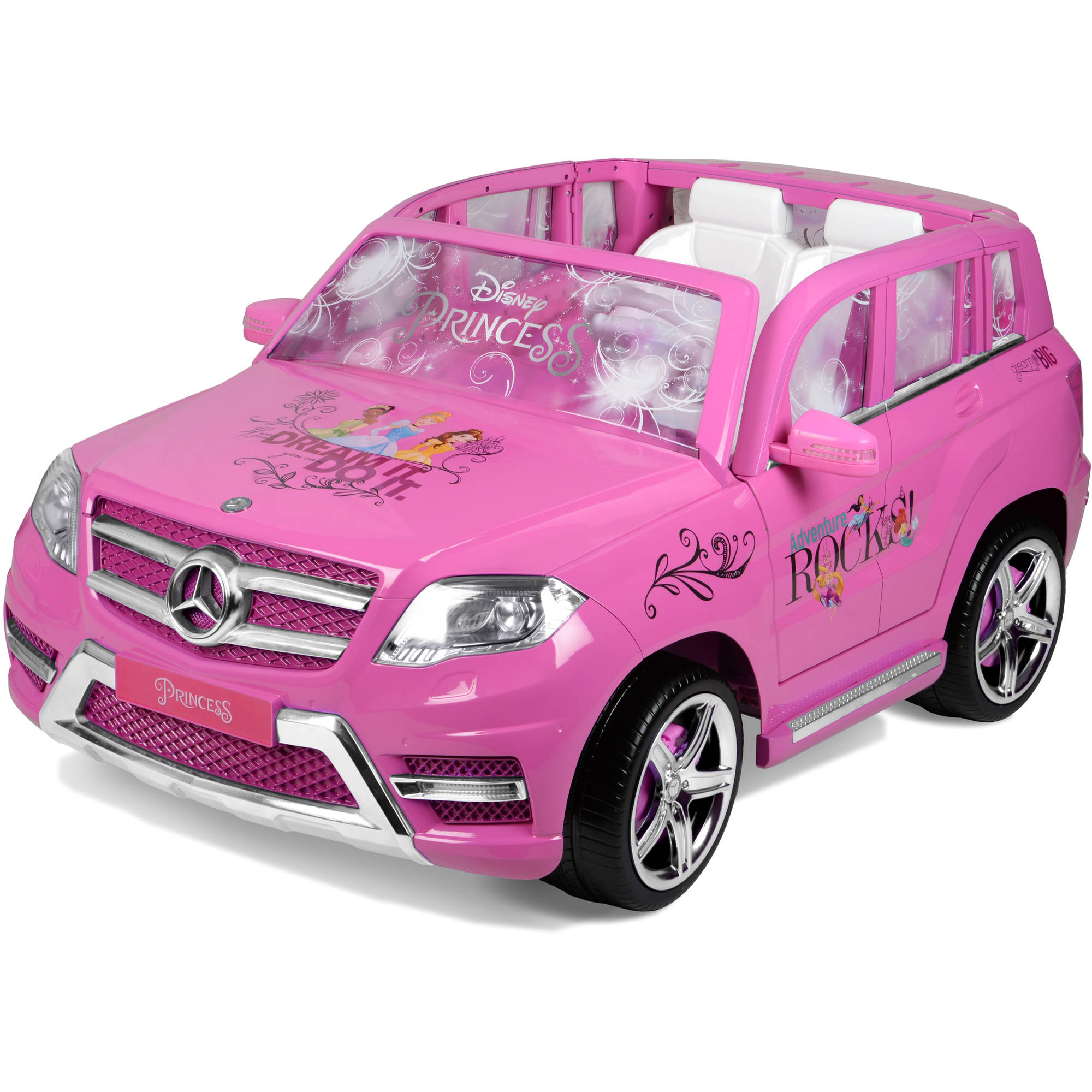 Disney Princess Mercedes 12-Volt Battery Powered Ride-On