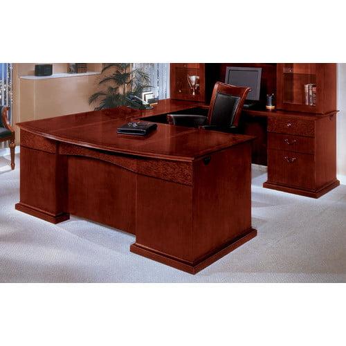 Flexsteel Contract Del Mar Bow Front U-Shape Executive Desk