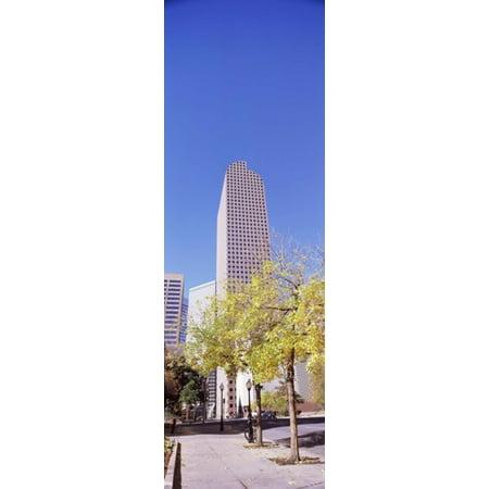 Mailbox Building In A City Wells Fargo Center Denver Colorado Usa Canvas Art   Panoramic Images  36 X 12