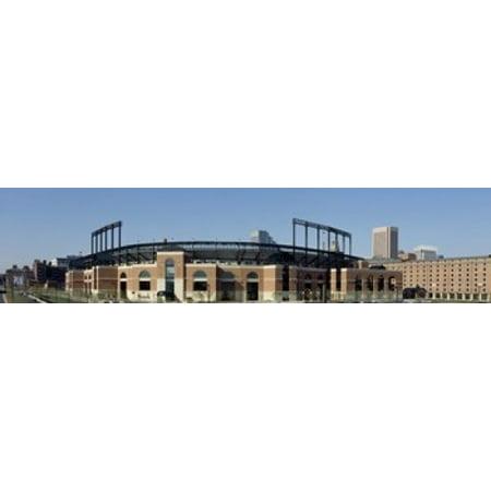 Baltimore Orioles Camden Yards - Baseball park in a city  Oriole Park at Camden Yards  Baltimore  Maryland  USA Poster Print (20 x 5)