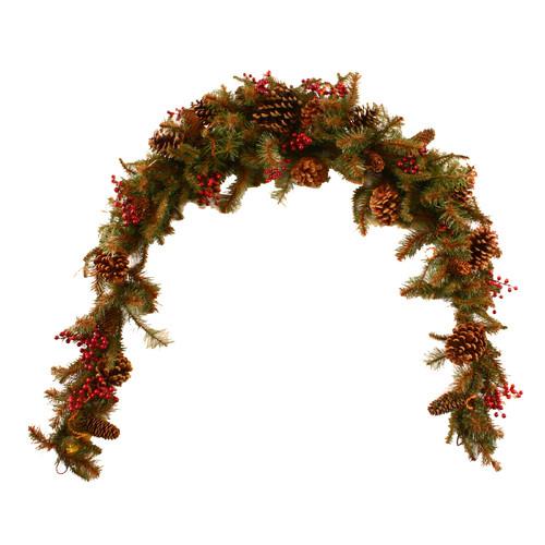 Dyno Seasonal Solutions Christmas Surrey Woods Pine Mantel Swag