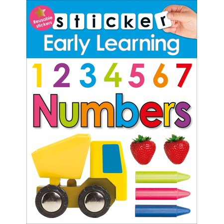 Sticker Early Learning: Numbers - Halloween Early Years Activities