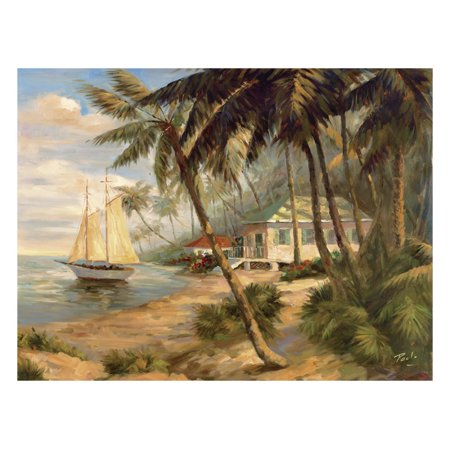Bolo Key West Hideaway - Global Gallery's 'Key West Hideaway' By Bolo Unframed Giclee on Paper Print