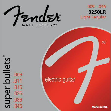 Fender 3250LR Nickel-Plated Steel Bullet-End Electric Guitar Strings