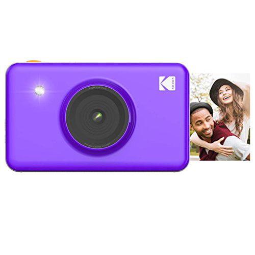 Kodak Mini Shot Instant Camera (Purple) Art Bundle + Paper (20 Sheets) + 8x8 Cloth Scrapbook + 12 Twin Tip Markers + 100 Border Stickers + 6 Decorative Scissors + Washi Tape - image 6 of 8