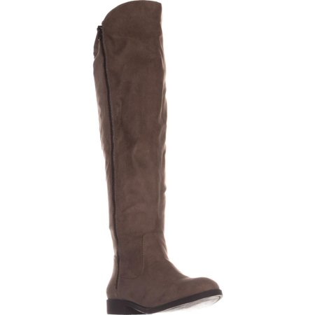 - Womens SC35 Hadleyy Wide Calf Knee High Boots, Truffle, 5 US