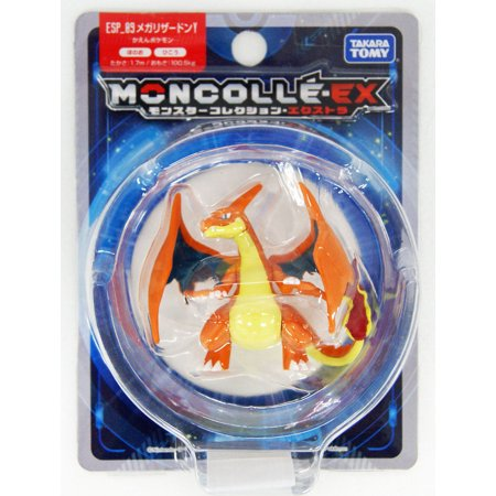 - Takara Tomy Pokemon Collection EX Moncolle ESP_09 Mega Charizard Y Figure