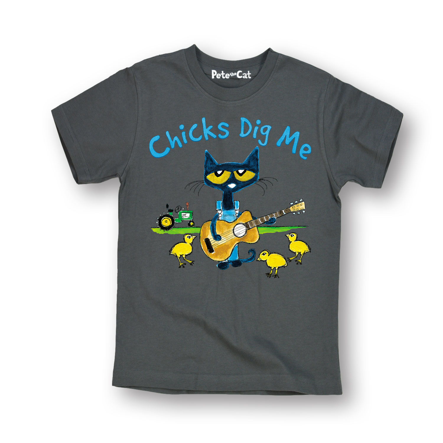 Pete The Cat Chicks Dig Me TODDLER SHORT SLEEVE TEE