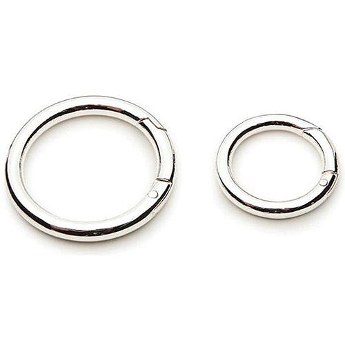 Darice Accessory Loops Clasps, Silver Ci