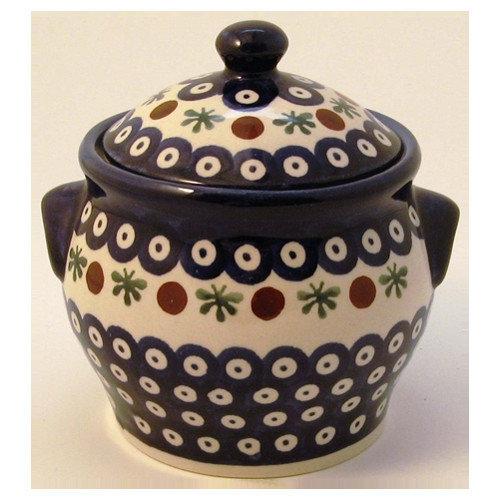 Euroquest Imports Polish Pottery Pattern 41A Decorative Jar