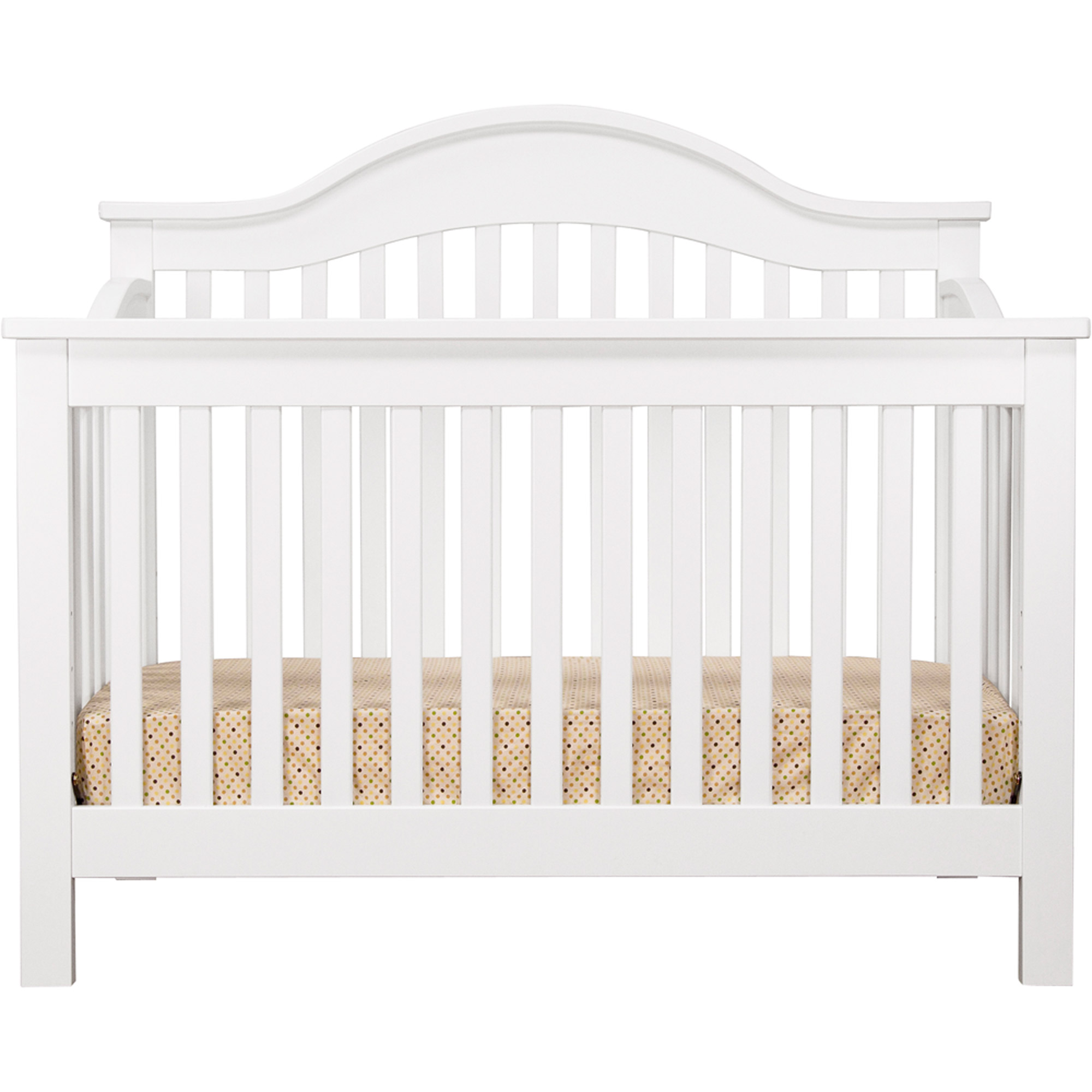 davinci jayden 4in1 convertible crib with toddler bed conversion kit white walmartcom