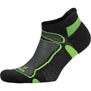 Ultra Light No-Show Running Sock Black/Lime, M
