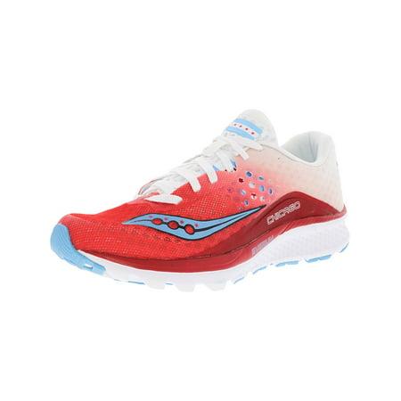 9b91e634 Women's Kinvara 8 Red / White Ankle-High Running Shoe - 7M