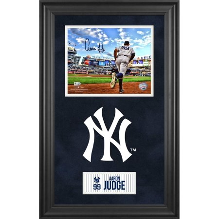 Aaron Judge New York Yankees Deluxe Framed Autographed 8