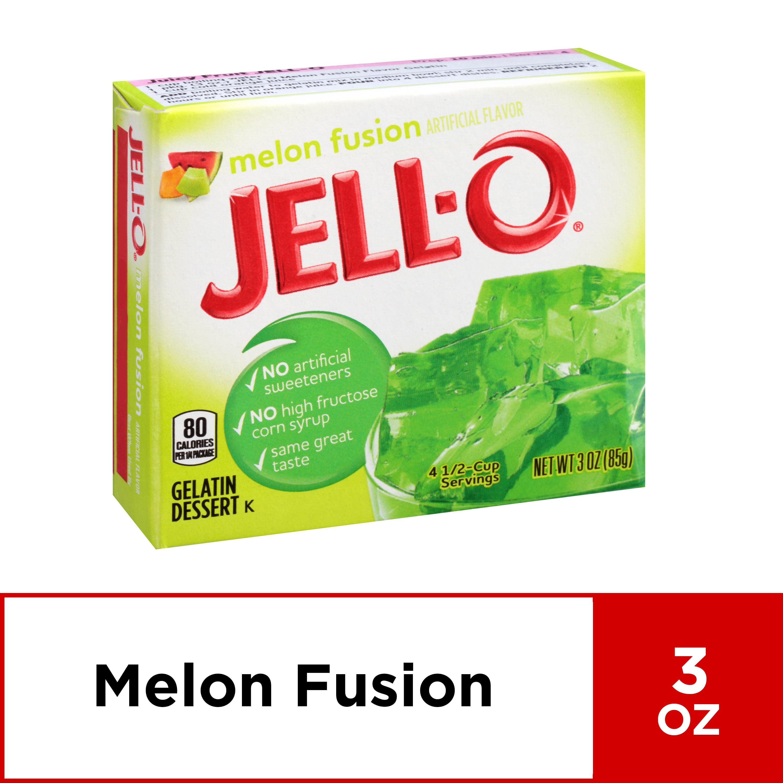 Dollhouse Miniature  Size Melon Fusion Gelatin Box