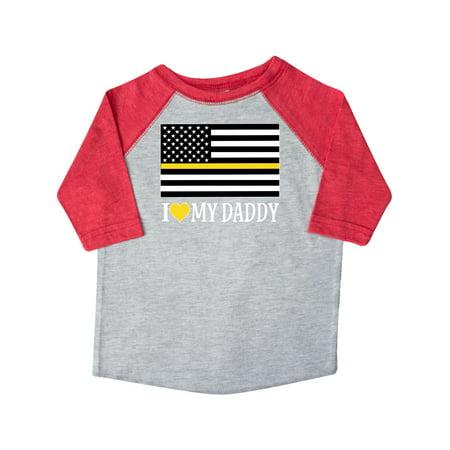 Dispatcher Dad Emergency Services Toddler T-Shirt