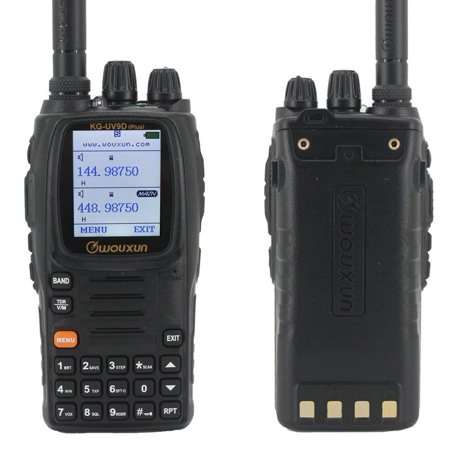 Wouxun KG-UV9D Plus 7-Bands 999 Channel Dual-Band V/UHF Handheld Radio (Channel Plus Telephone)