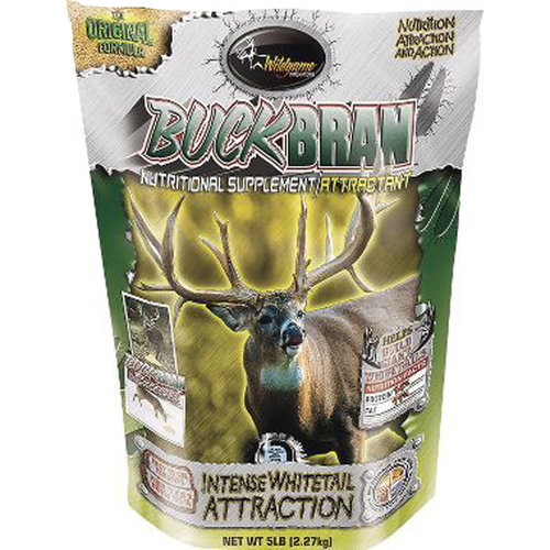 Wildgame Innovations Buck Bran Nutritional Deer Supplement and Attractant
